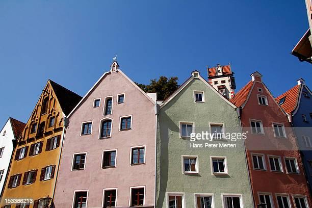 Füssen, old town, Allgäu, Bavaria