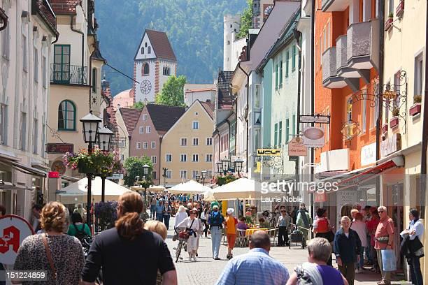 F??ssen, Ostallga?u, Bavaria, Germany