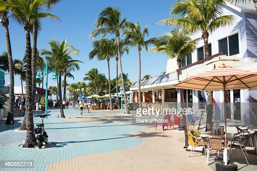 Ft. Myers Beach Florida Times Square Area