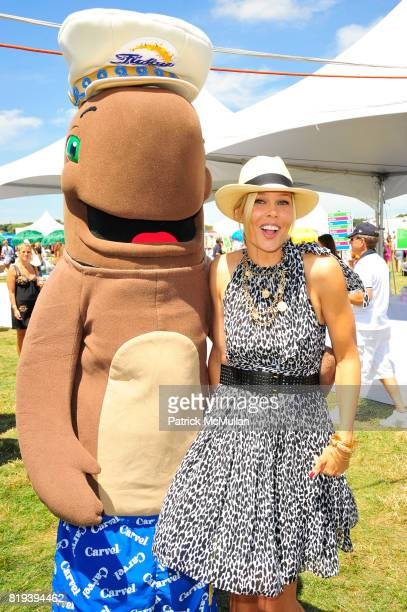 Fudgie The Whale and Mary Alice Stephenson attend Donna Karan Ariel Foxman InStyle Along With Kelly Ripa Ashley Greene Present Super Saturday 13 at...