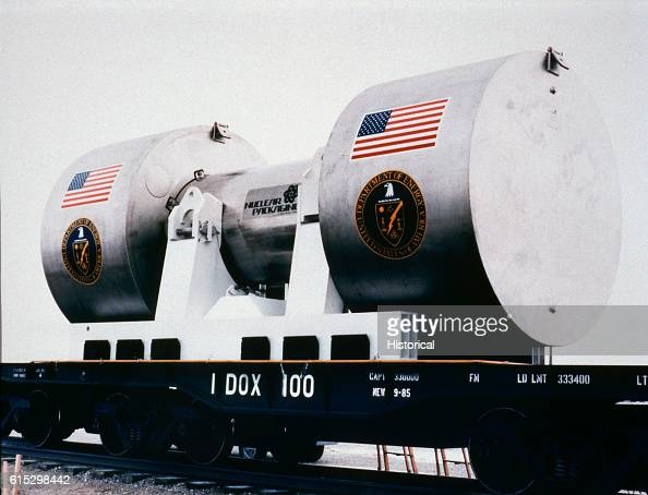 Fuel and structural core materials from the Three Mile Island2 reactor are being shipped by rail from TMI to the Department of Energy's Idaho...