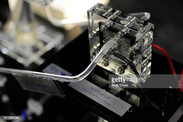 GOLDEN COA 'fuel cell' from a working model that makes hydrogen at the National Renewable Energy Lab NREL in Golden Wednesday morning Andy Cross/The...