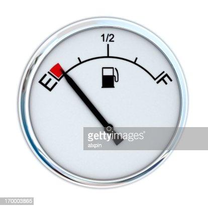 Fuel Gauge : Stock Photo