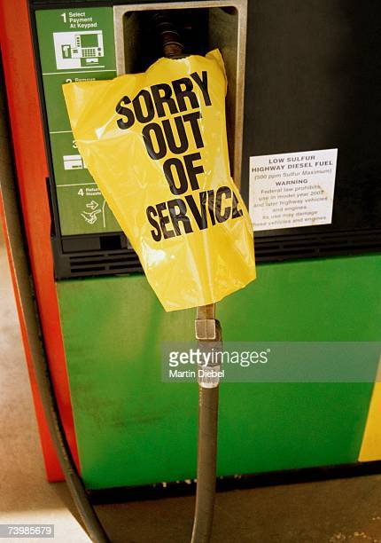 Fuel pump out of service