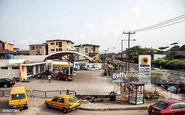 Fuel shortage in Lagos, Nigeria.