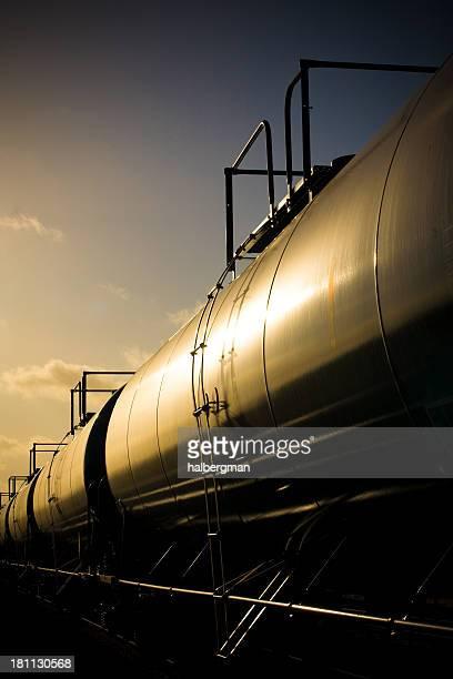 Fuel Tanker Train
