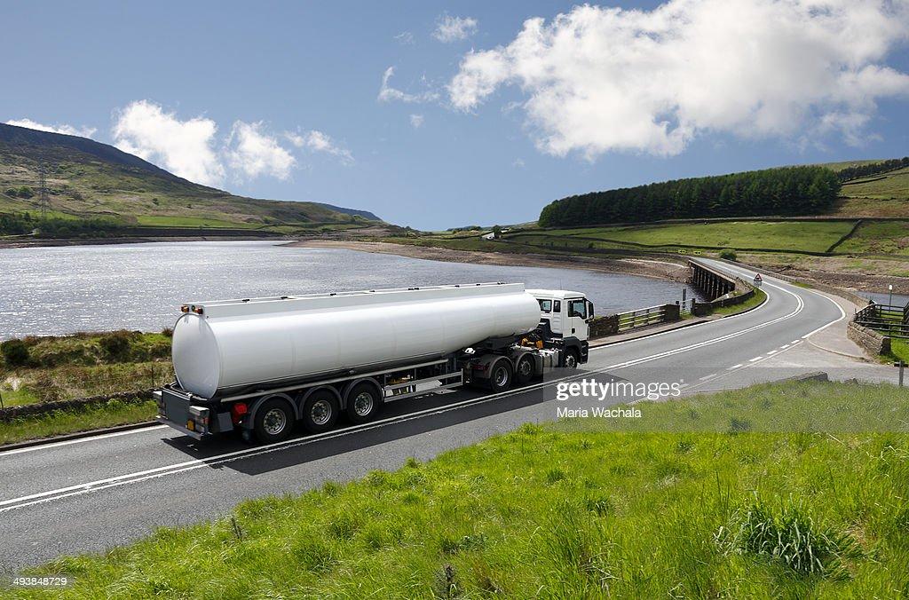 Fuel Tanker Truck