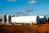 Fuel Tanks on Mine Site - Australia