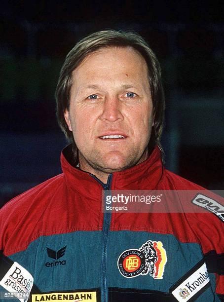 TEAM fuer WM 1995 CoTrainer Erich KUEHNHACKL PORTRAIT/PORTRAET