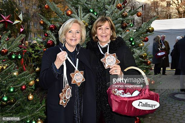 Fuerstin Inge WredeLanz and Prinzessin Ursula von Bayern during the 21th BMW advent charity concert at Jesuitenkirche St Michael on December 10 2016...