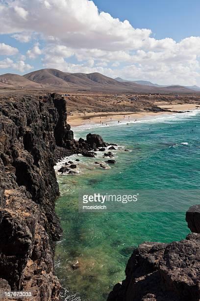 Costa de isla de Fuerteventura (El Cotillo