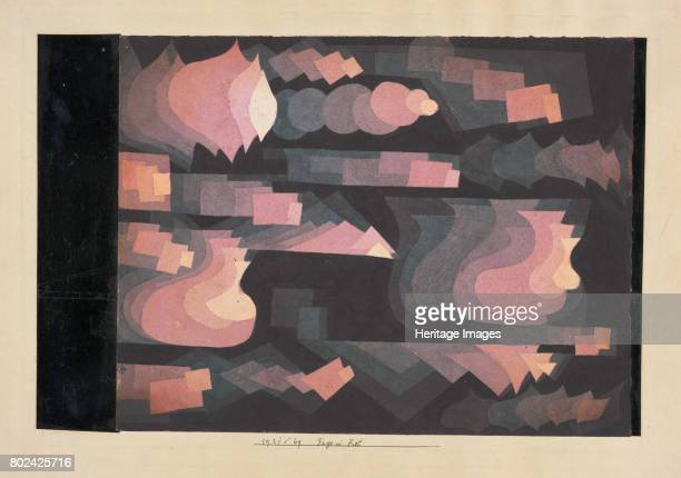 Fuge in Rot 1921 Found in the collection of Zentrum Paul Klee Bern