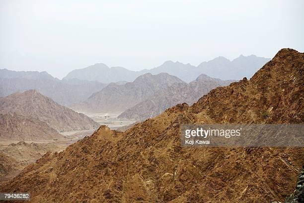 Fujairah's Mountains. Fujairah, United Arab Emirates