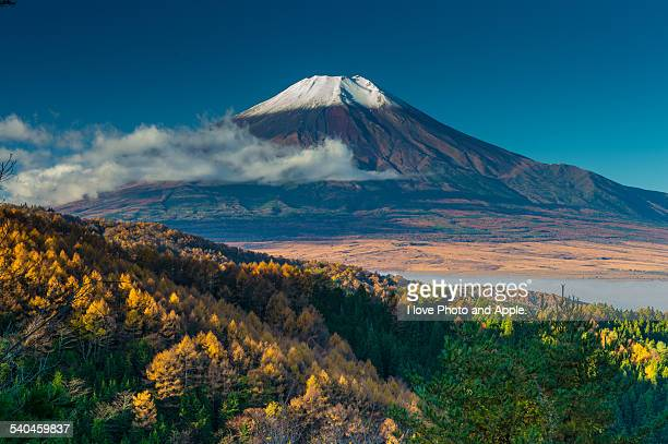 Fuji and Clear autumn sky
