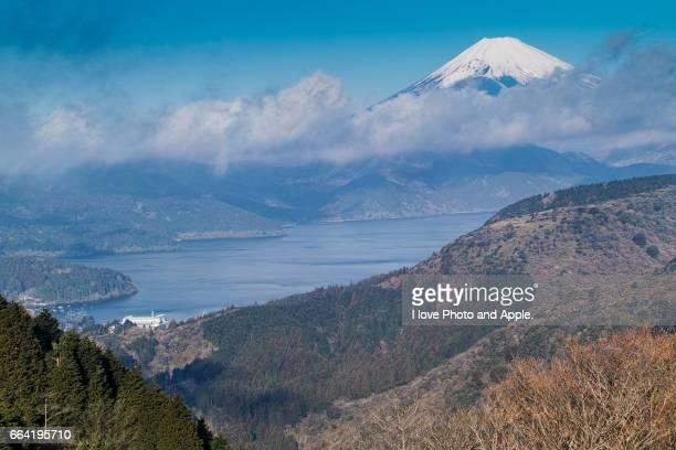 Fuji and Lake Ashinoko