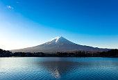 Fuji and the lake
