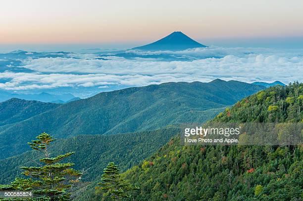 Fuji distant view from Kokushigatake