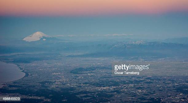 Fuji from the air