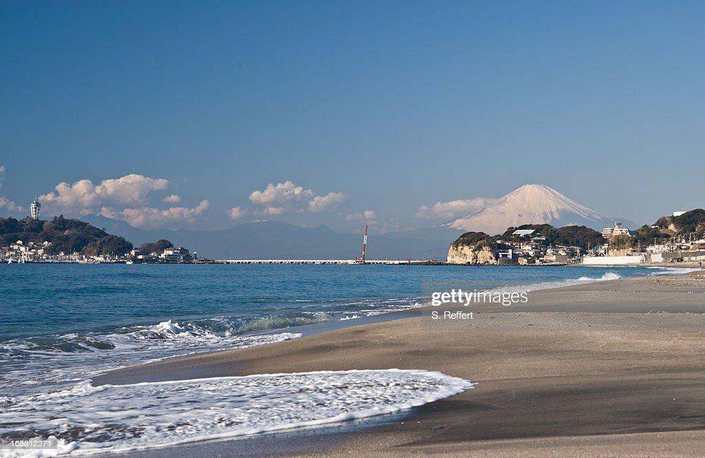 Fuji on the Beach