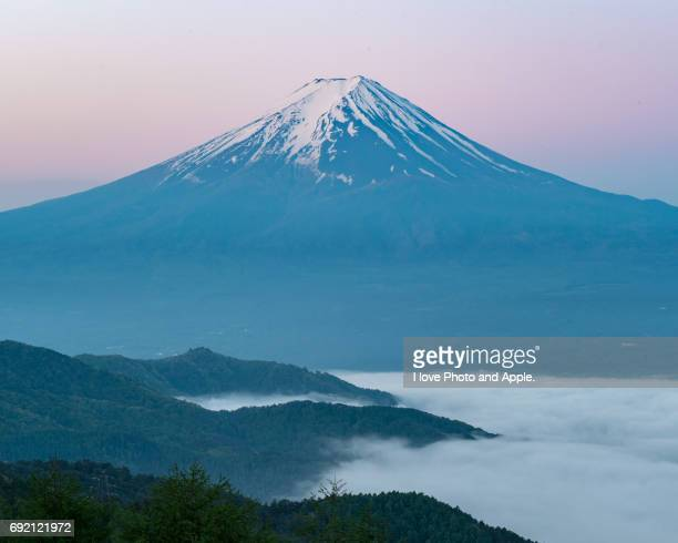 Fuji on the sea of clouds