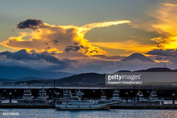 Fuji san and port