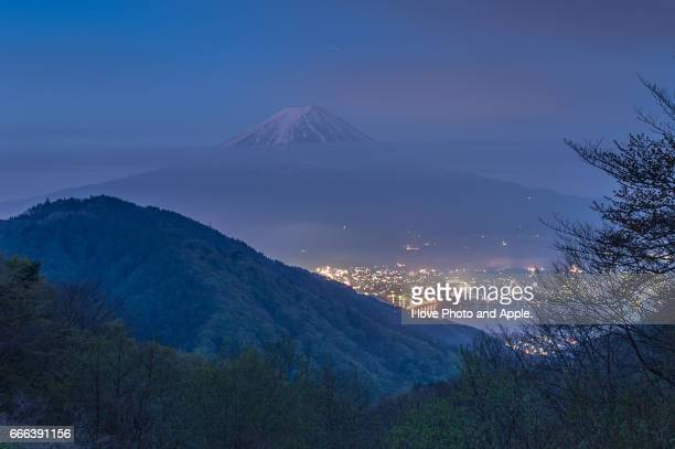 Fuji view from Misaka Pass