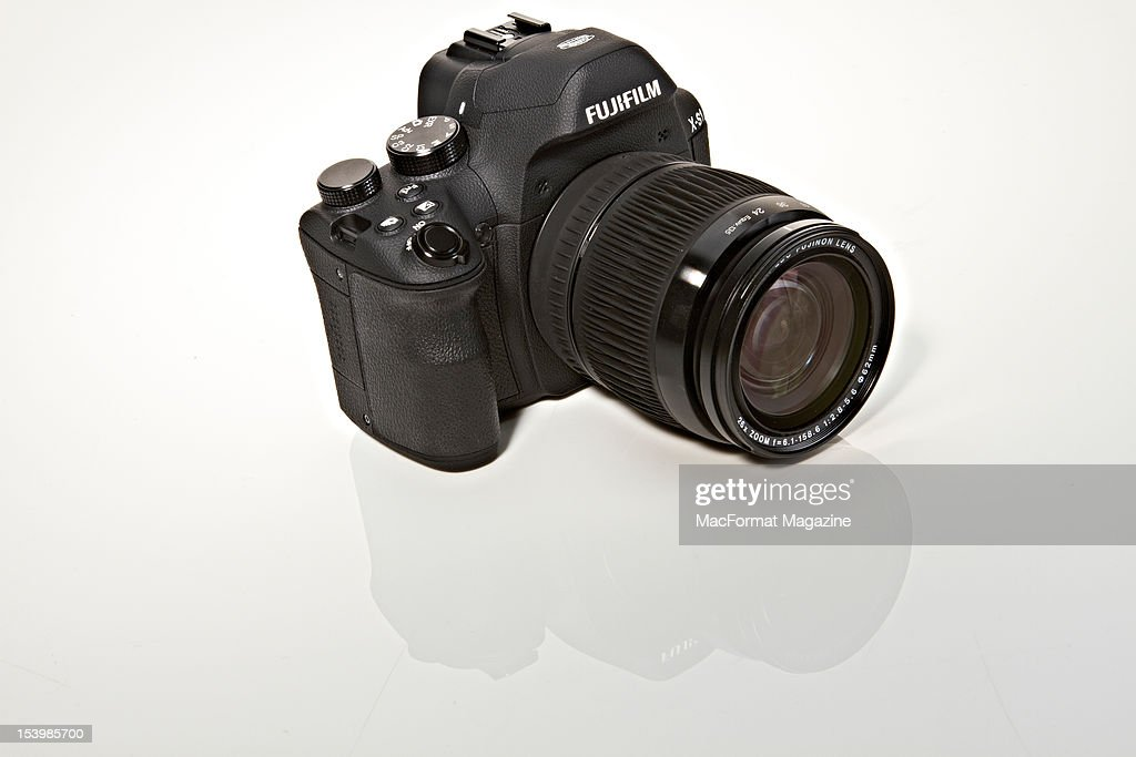 A Fujifilm XS1 Digital SLR camera, March 25, 2012.
