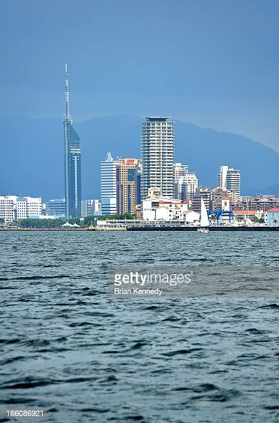 Fukuoka Cityscape from Harbor