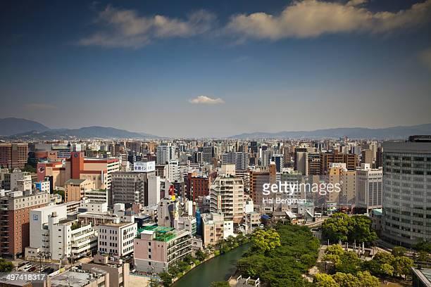 Fukuoka, Japan Cityscape
