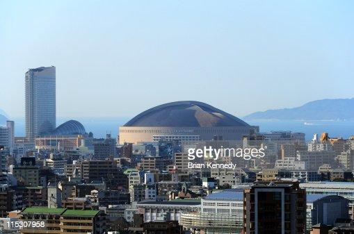 Fukuoka Momochi urban Cityscape