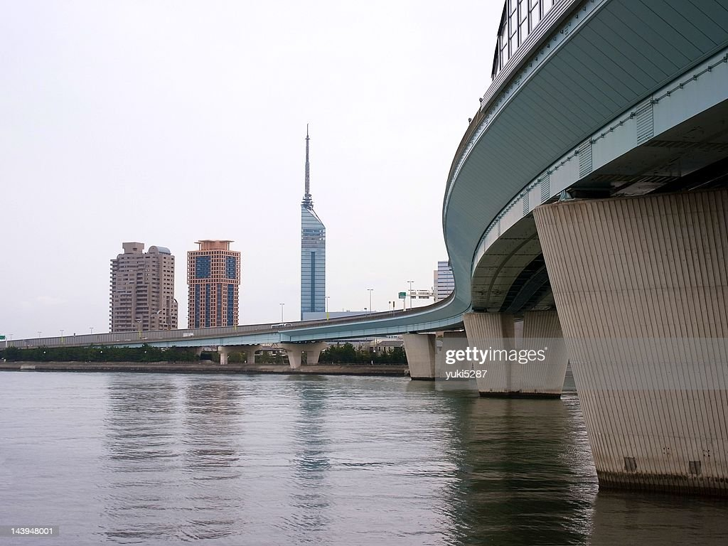 Fukuoka tower : Stock Photo