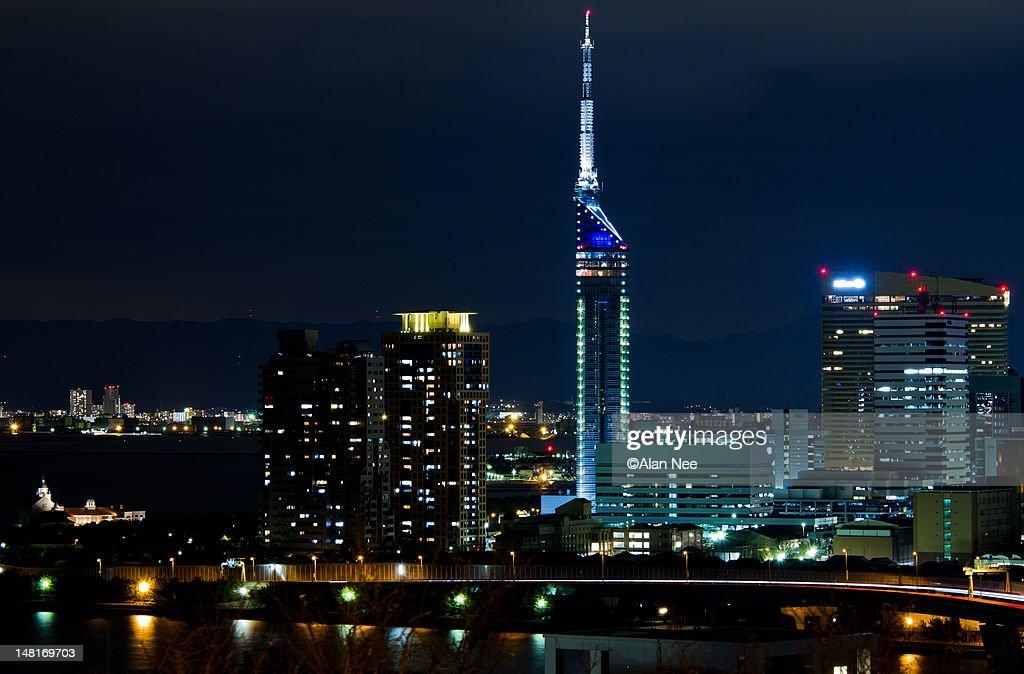 Fukuoka tower : Stock Photo