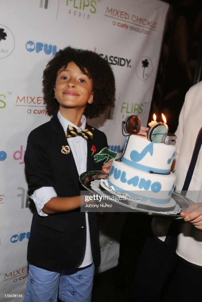 DJ Fulano attends his 10th Birthday Bash at No. 8 on July 13, 2013 in New York City.