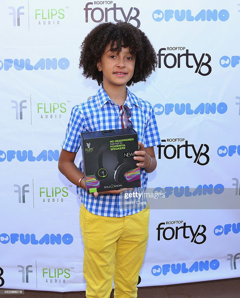 DJ Fulano attends his 11th birthday party at Rooftop 48 on July 12, 2014 in New York City.