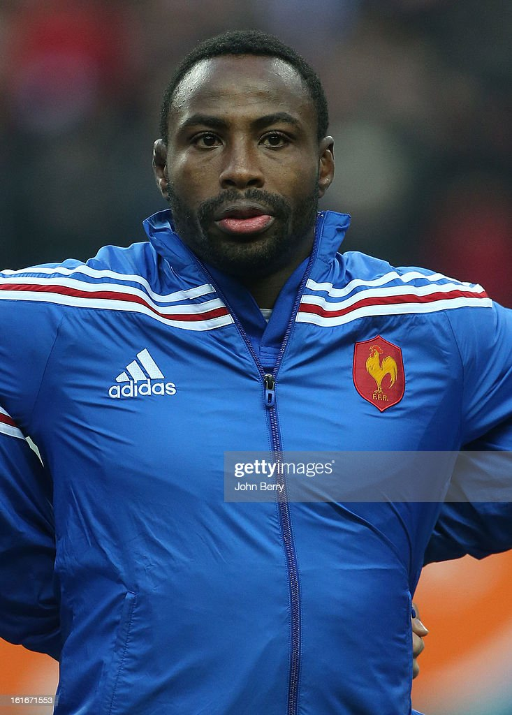 Fulgence Ouedraogo of France poses before the 6 Nations match between France and Wales at the Stade de France on February 9, 2013 in Paris, France.