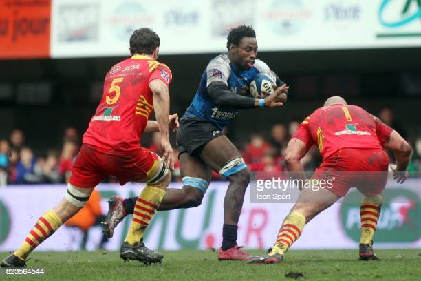 Fulgence OUEDRAOGO / Perry FRESHWATER Montpellier / Perpignan 16e journee Top 14