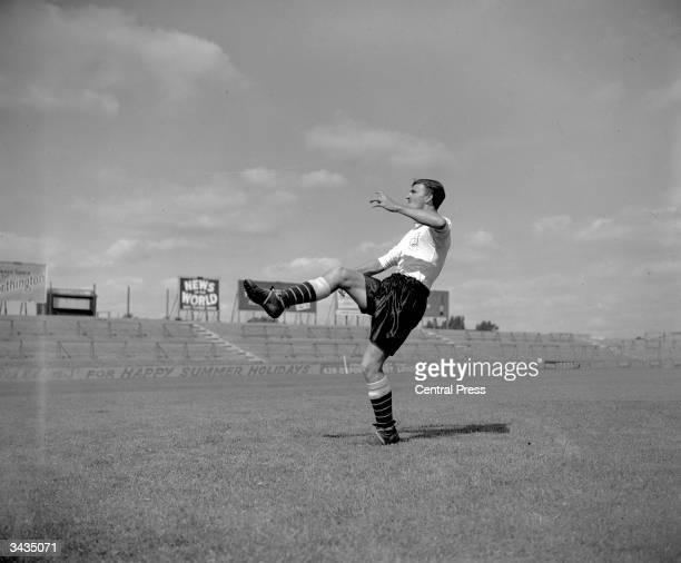 Fulham Football Club player Jimmy Hill
