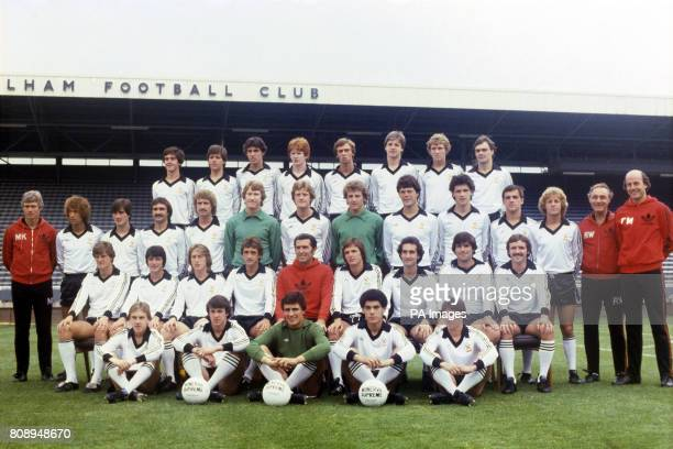 Fulham team group Brian Corner Brian Gibson Clive Day Declan O'Doherty John Gummer Jimmy Richardson Tommy Mason Gordon Boyd Mike Kelly John Beck...