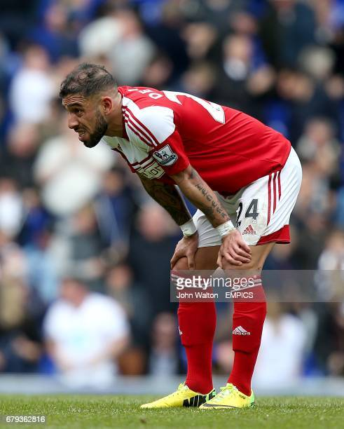 Fulham's Ashkan Dejagah looks dejected after the final whistle