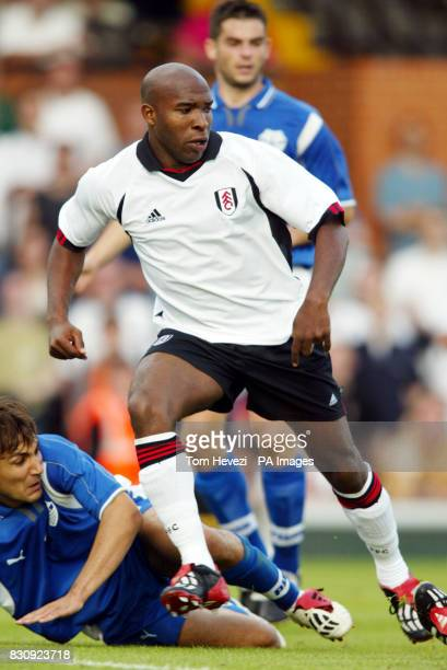 Fulham's Barry Hales during the 3rd round Intertoto Cup 1st leg against FC Haka at Craven Cottage in West London THIS PICTURE CAN ONLY BE USED WITHIN...