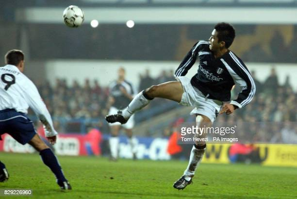 Fulham's Junichi Inamoto during their 3rd round 2nd leg UEFA Cup match at Loftus Road West London THIS PICTURE CAN ONLY BE USED WITHIN THE CONTEXT OF...