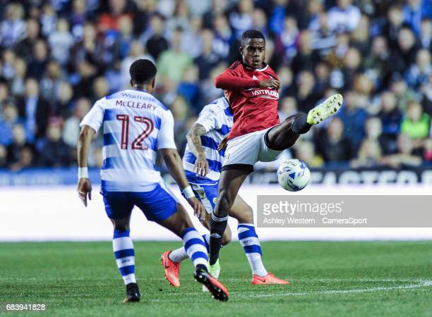 Fulham's Ryan Sessegnon in action during the Sky Bet Championship PlayOff Semi Final Second Leg match between Reading and Fulham at Madejski Stadium...