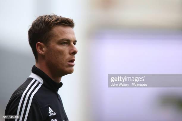 Fulham's Scott Parker during prematch training