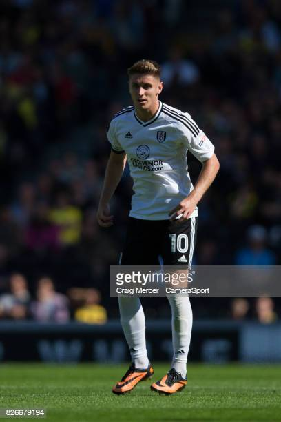 Fulham's Tom Cairney during the Sky Bet Championship match between Fulham and Norwich City at Craven Cottage on August 5 2017 in London England