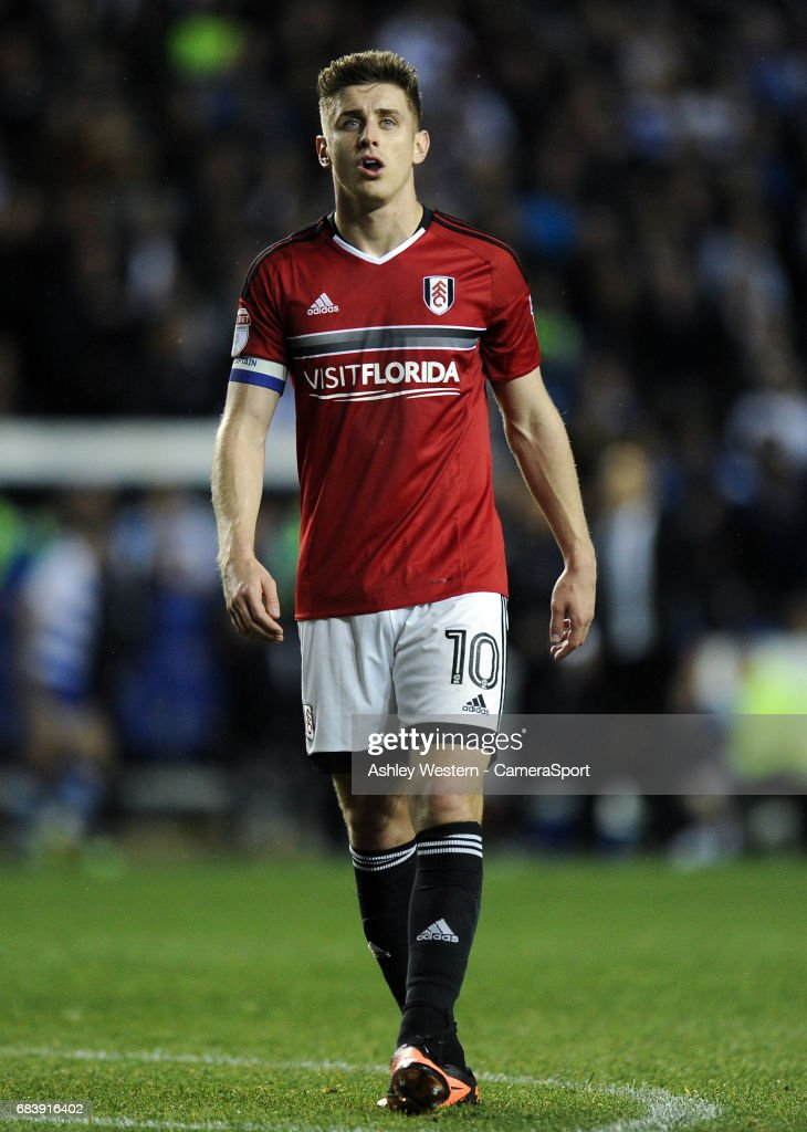Fulham's Tom Cairney during the Sky Bet Championship Play-Off Semi Final Second Leg match between Reading and Fulham at Madejski Stadium on May 16, 2017 in Reading, England.