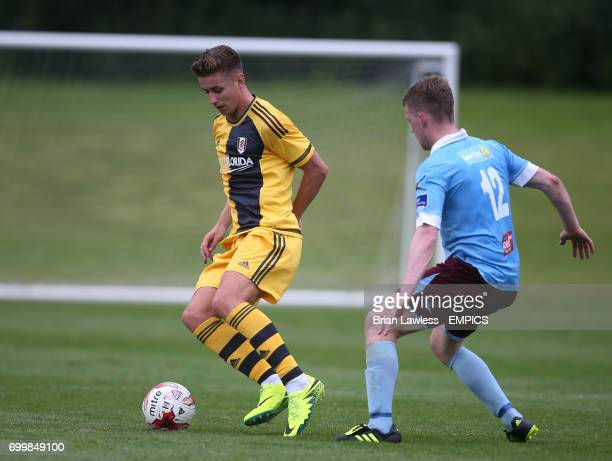 Fulham's Tom Cairney in action against Cobh Ramblers during their preseason friendly at Fota Island Cork Republic of Ireland