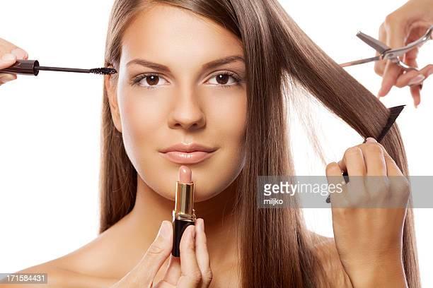 Gamme complète de soins de beauté