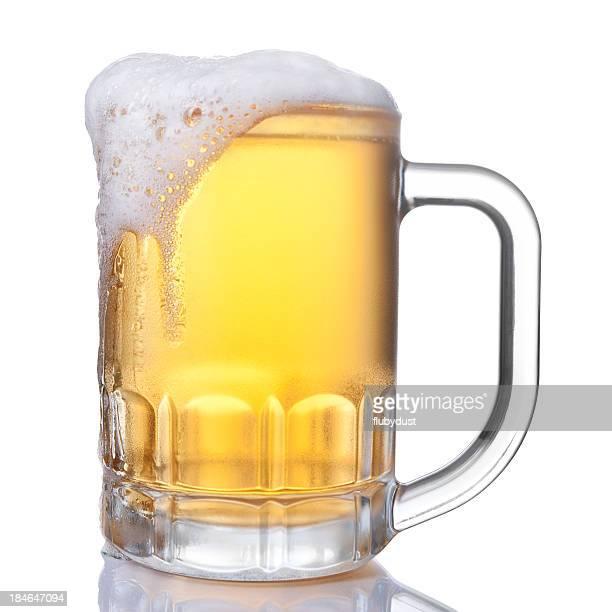 Durchgehender Bierkrug