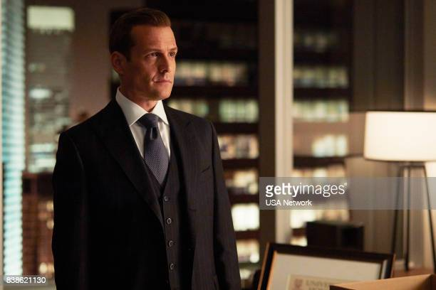 SUITS 'Full Disclosure' Episode 707 Pictured Gabriel Macht as Harvey Specter