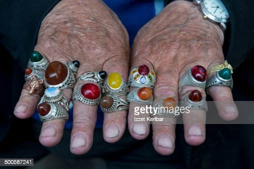 Full Display Of Rings Of Iranian Mand Hands Stock Photo. Uv Light Rings. Arty Engagement Rings. Personalized Engagement Rings. Liberty Bowl Rings. One Carat Wedding Rings. Polished Silver Engagement Rings. Designer Marquise Engagement Wedding Rings. Men Year Engagement Rings